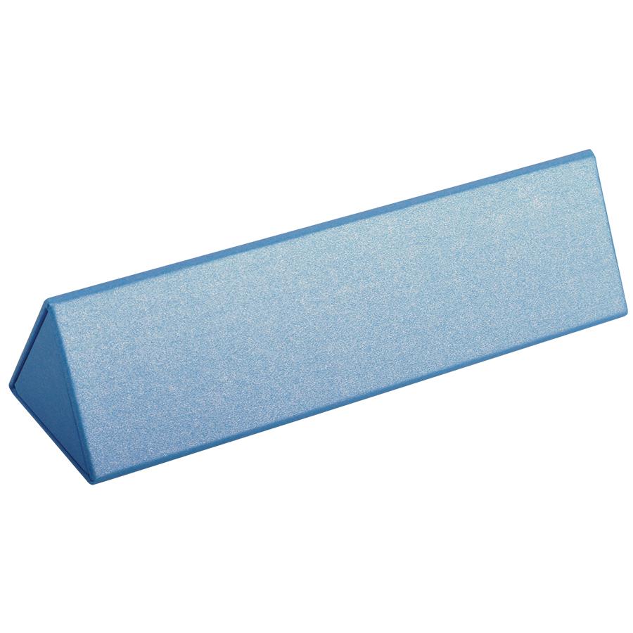 Футляр для одной ручки, голубой, картон/дизайнерская бумага