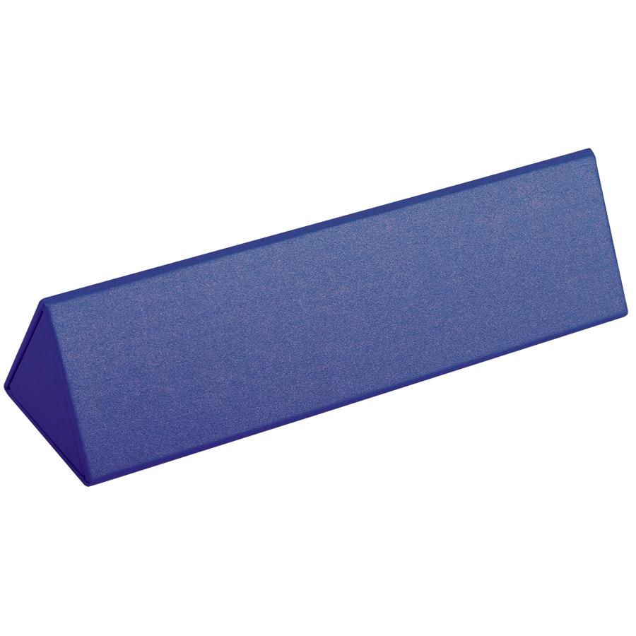 Футляр для одной ручки, синий, картон/дизайнерская бумага