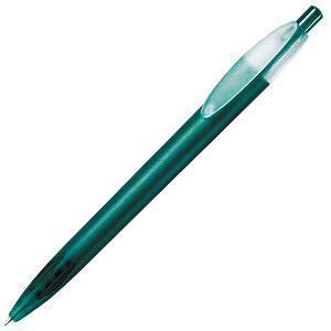 X-1 FROST, ручка шариковая, фростированный зеленый, пластик