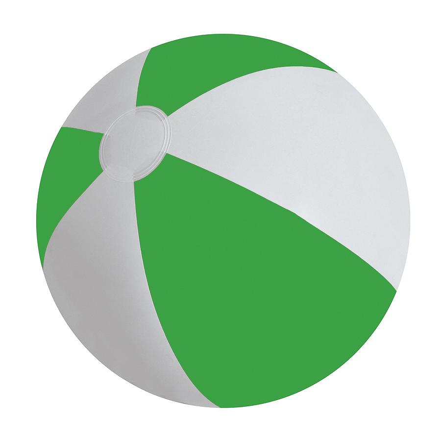 """Мяч надувной """"ЗЕБРА"""",  зелёный, 45 см, ПВХ"""