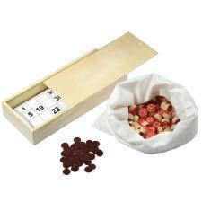 Русское лото, 24х11х5 см, дерево/картон/хлопок