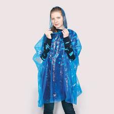 """Дождевик """"Promo""""; синий; универсальный размер, D=6,3 см; полиэтилен, пластик"""