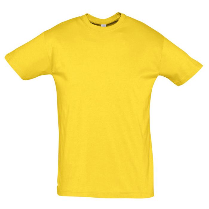 "Футболка ""Regent"" солнечно-желтый_2XL, 100% х/б, 150г/м2"
