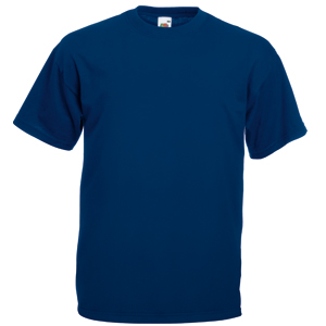 "Футболка ""Valueweight T"", темно-синий_M, 100% х/б, 165 г/м2"
