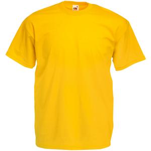 """Футболка """"Valueweight T"""", солнечно-желтый_L, 100% х/б, 165 г/м2"""