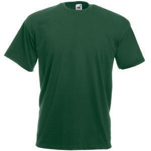 "Футболка ""Valueweight T"", темно-зеленый_S, 100% х/б, 165 г/м2"