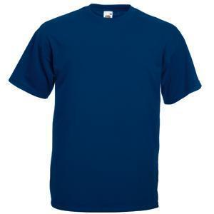 """Футболка """"Valueweight T"""", темно-синий_2XL, 100% х/б, 165 г/м2"""