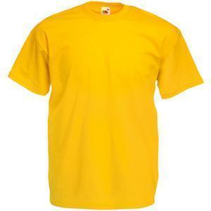 """Футболка """"Valueweight T"""", солнечно-желтый_XL, 100% х/б, 165 г/м2"""