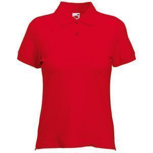 """Поло """"Lady-Fit Polo"""", красный_XL, 97% х/б, 3% эластан, 220 г/м2"""