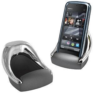 "Подставка для  смартфона ""КРЕСЛО""; 7,2х6,5х5,1 см; металл; лазерная гравировка"