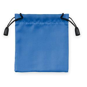 Мешочек подарочный, синий, 9,5х10см, полиэстер