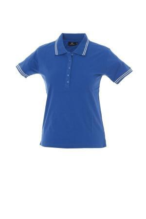 MINORCA Жен. Поло с короткими рукавами синий, размер XS