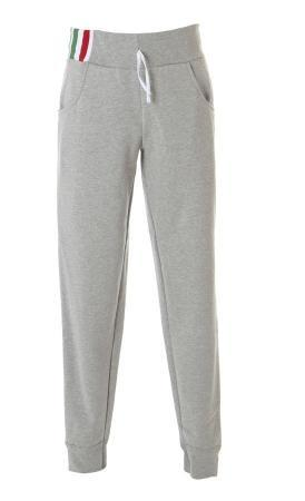 PALERMO Штаны Италия серый меланж, размер XL
