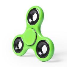 Спиннер Fidget, пластиковый с металлическими элементами, зеленый