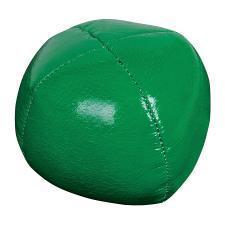 Мяч-антистресс,зеленый, D=6,5см, искусственная кожа