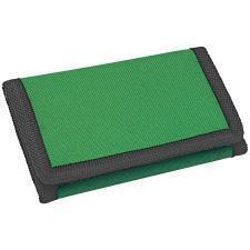 "Кошелек ""Smart""; зеленый; 8х12,5х1 см; полиэстер; шелкография"