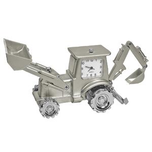 """Часы """"Трактор""""; 10,4х8х4,5 см; металл; лазерная гравировка"""