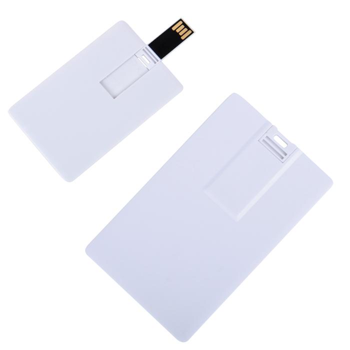 "USB flash-карта ""Card"" (8Гб),8,5х5,5х0,1см,пластик"