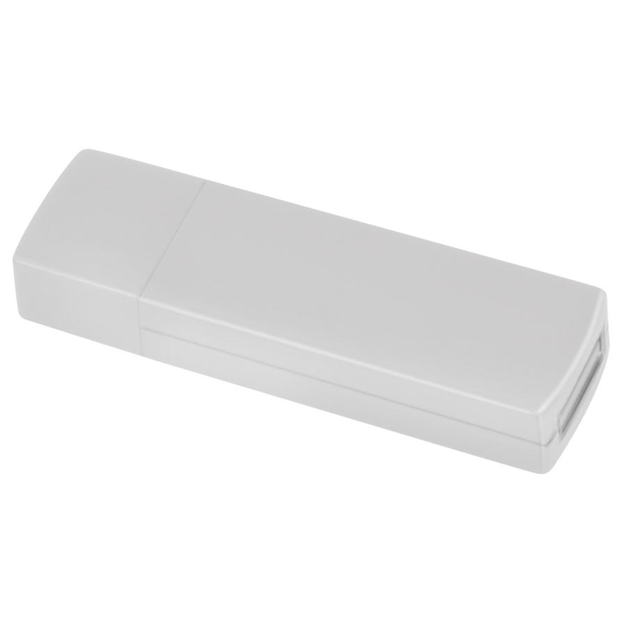 """USB flash-карта """"Twist"""" (8Гб),белая, 6х1,7х1см,пластик"""