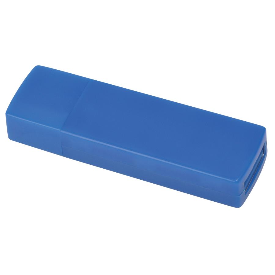 """USB flash-карта """"Twist"""" (8Гб),синяя, 6х1,7х1см,пластик"""
