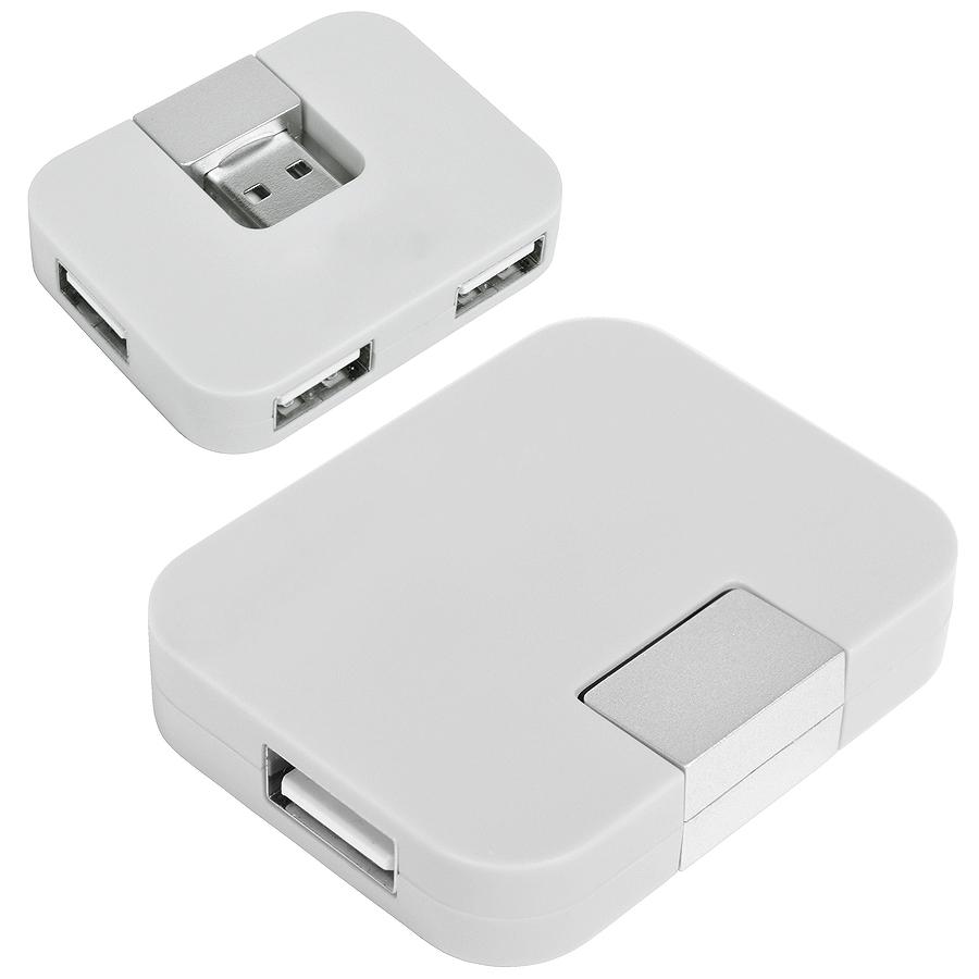 "USB-разветвитель ""Mini"" на 4 порта, 5,2х4х1см"