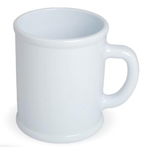 """Кружка """"Радуга""""; белая, D=7,9см, H=9,6см, 300мл; пластик; тампопечать"""