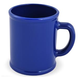 """Кружка """"Радуга""""; синяя, D=7,9см, H=9,6см, 300мл; пластик; тампопечать"""