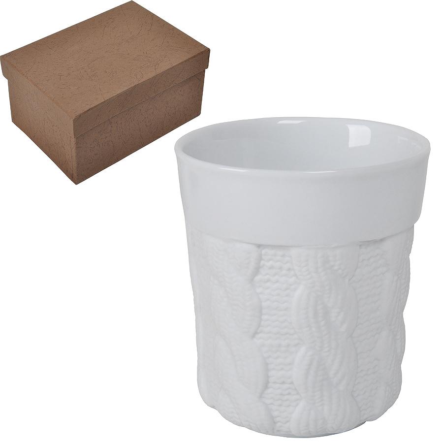 """Кружка """"Warm"""" с двойными стенками в подарочной упаковке, 200мл, фарфор"""
