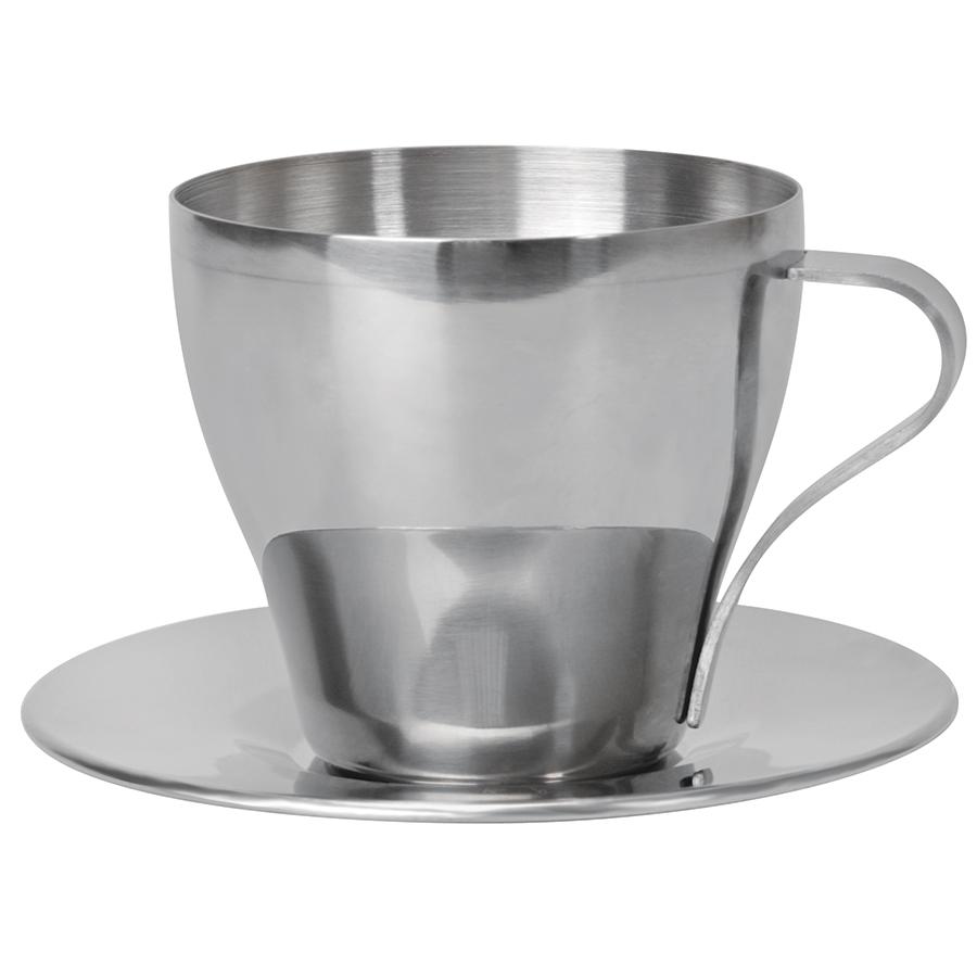 """Чайная пара """"Teatime""""; 220 мл; металл; лазерная гравировка"""