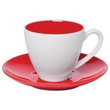 """Чайная пара """"Galena"""" в подарочной упаковке, красный, 200мл, фарфор"""