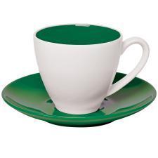 """Чайная пара """"Galena"""" в подарочной упаковке, зеленый, 200мл, фарфор"""