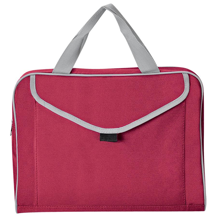 """Конференц-сумка """"Mail""""; красный; 35х30x8 см; полиэстер; шелкография"""