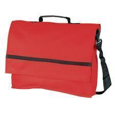 """Конференц-сумка """"Forum""""; красный; 36,5х29,5х6,5 см.; полиэстер 600D; шелкография"""