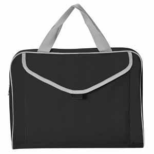 """Конференц-сумка """"Mail""""; черный; 35х30x8 см; полиэстер шелкография"""