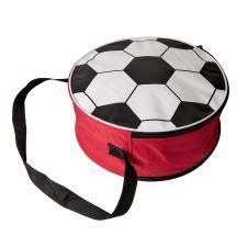 Сумка футбольная; красный, D36 cm; 600D полиэстер