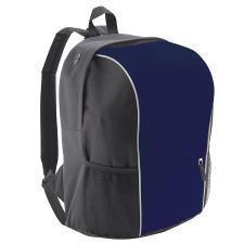 "Рюкзак ""Jump"" со светоотражающей полосой, темно-синий, полиестер  600D,  24х31х41 см, V30,5 литров"