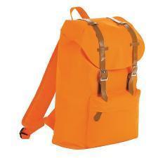 "Рюкзак ""HIPSTER"", оранжевый, полиэстер  600D, 29х46х16 см, V21 литр"