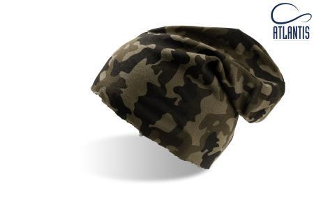 """Шапка """"BROOKLIN"""", камуфляж; 60% хлопок, 40% полиэстер; плотность 320 г/м2"""