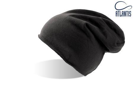 """Шапка """"BROOKLIN"""", черный; 60% хлопок, 40% полиэстер; плотность 320 г/м2"""