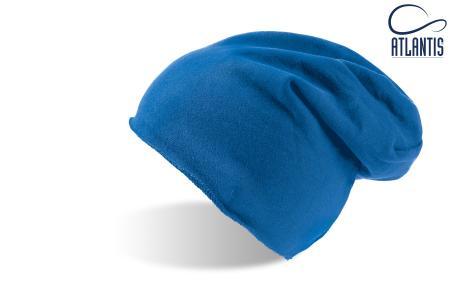 "Шапка ""BROOKLIN"", синий; 60% хлопок, 40% полиэстер; плотность 320 г/м2"