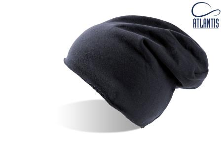 "Шапка ""BROOKLIN"", темно синий; 60% хлопок, 40% полиэстер; плотность 320 г/м2"