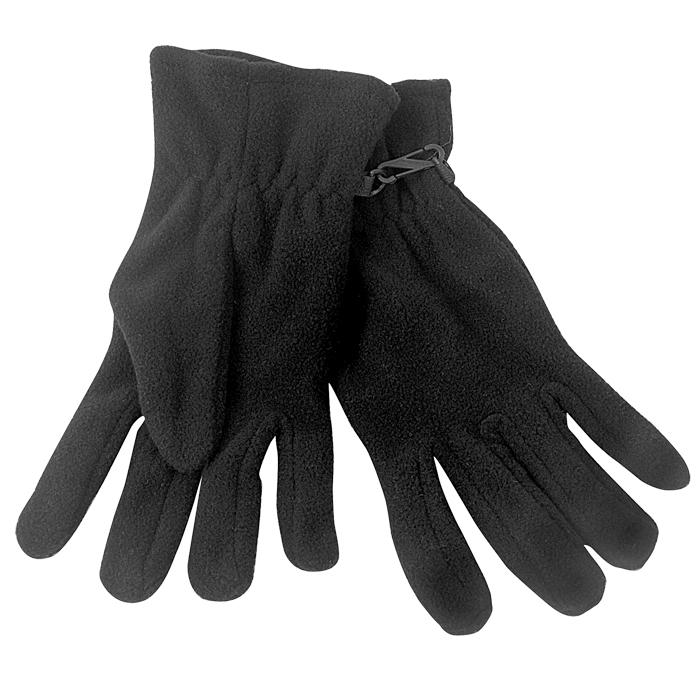 """Перчатки """"Monti"""", женский размер, черный, флис, 200 гр/м2"""