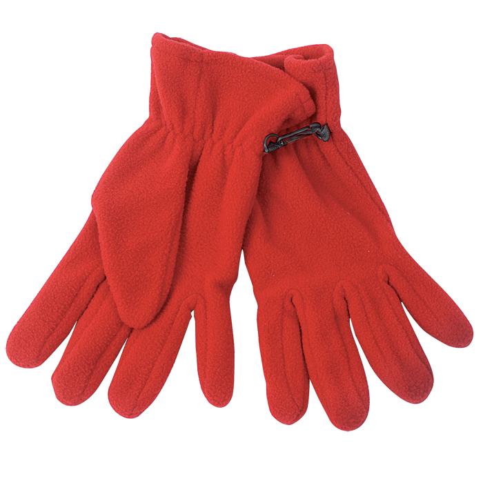 """Перчатки """"Monti"""", женский размер, красный, флис, 200 гр/м2"""