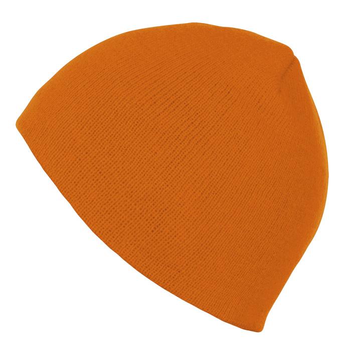 """Шапка """"Bronx"""", оранжевый, 100% акрил"""
