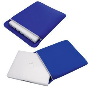 Чехол для ноутбука; синий; 29,5х36,5х2 см; нейлон, полиэстер, спандекс; шелкография
