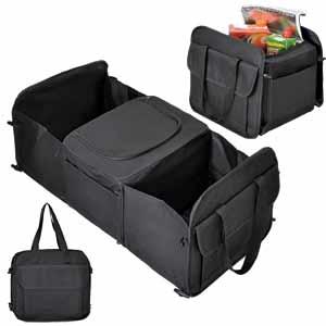 Сумка в багажник с термоотсеком 12 л.; 31х28х5 см, в разложенном виде: 31х28х61 см