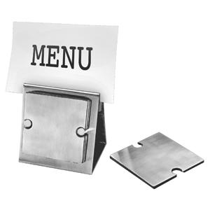 "Набор ""Dinner"":подставка под кружку/стакан (6шт) и держатель для меню;10,5х7,8х10,5 см;8,3х8,3х0,2см"