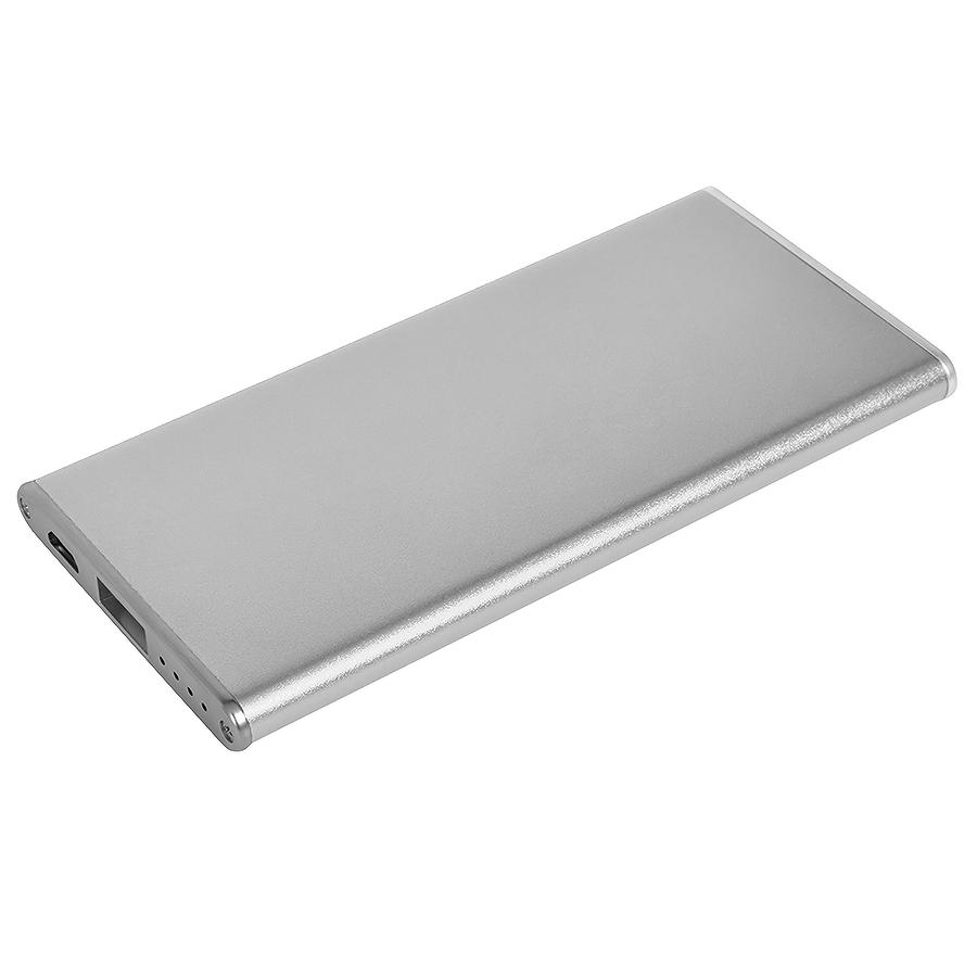 """Универсальное зарядное устройство """"Slim"""" (2800mAh) ,11,5х5,5х0,7см,металл"""