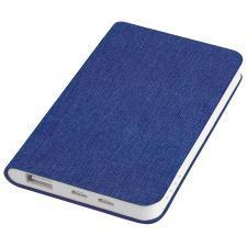 "Универсальное зарядное устройство ""Provence"" (4000mAh),синий,7,5х12,1х1,1см, искусственная кожа,плас"