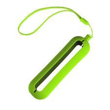 """Обложка с ланъярдом к зарядному устройству """"Seashell-1"""", светло-зеленый,силикон"""